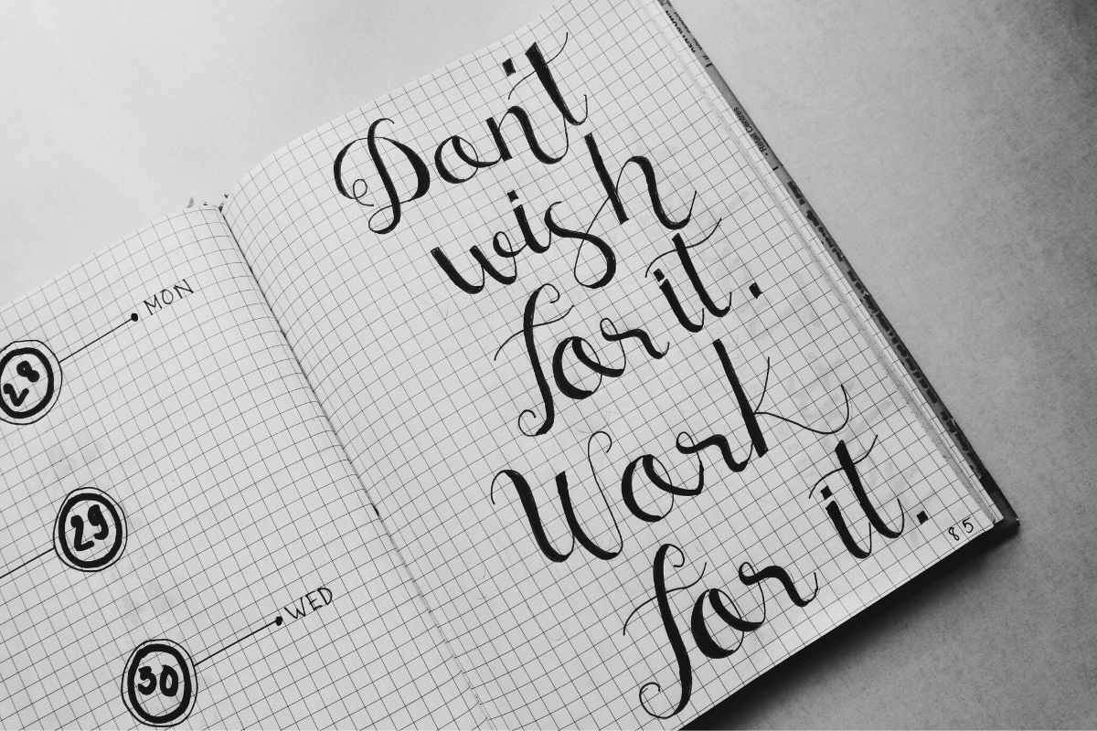 handlettering, things to do when home alone