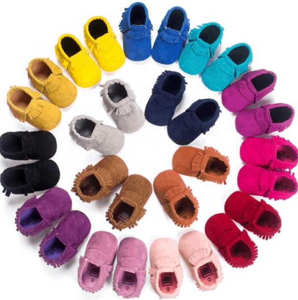 Baby Moccasins from Aliexpress