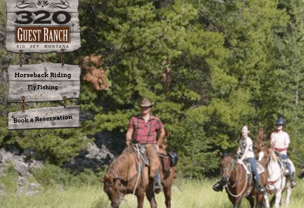 Montana Bucket List - 320 Guest Ranch Horse Ride Image