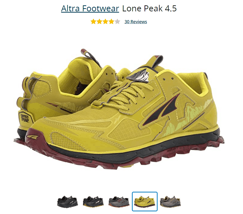 Altra Lone Peak Walking Shoe