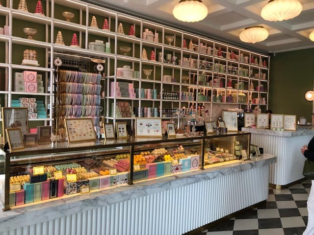 The Laduree Chocolate Shop - Geneva, Switzerland