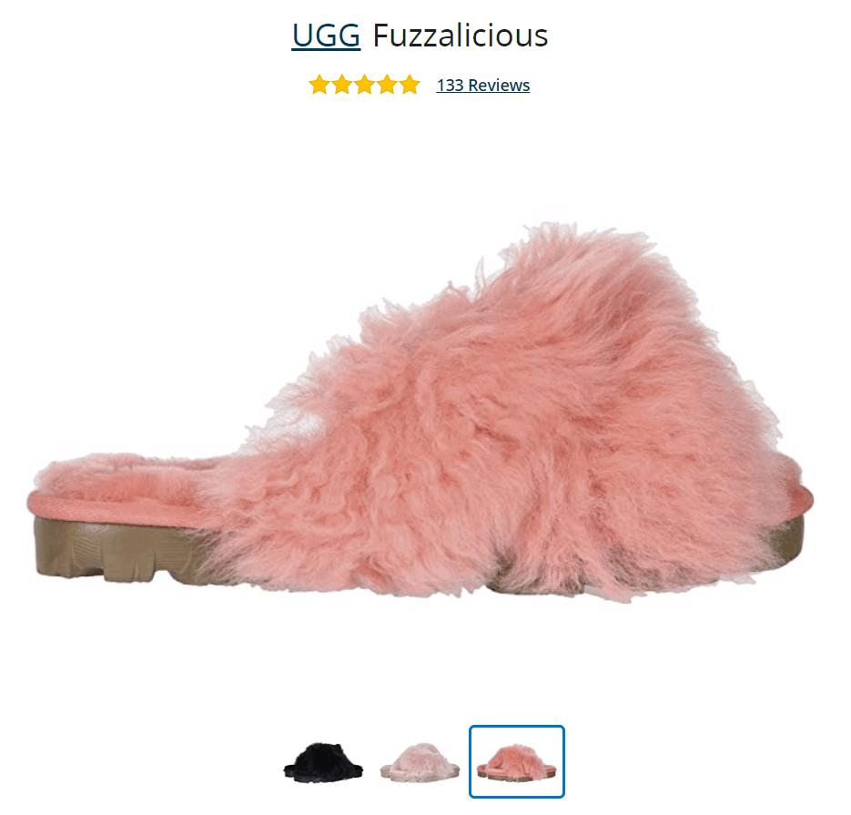 Fuzzalicious Ugg Slippers Image