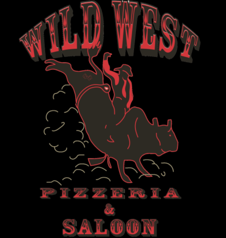 Wild West Pizza Logo Image West Yellowstone, Montana