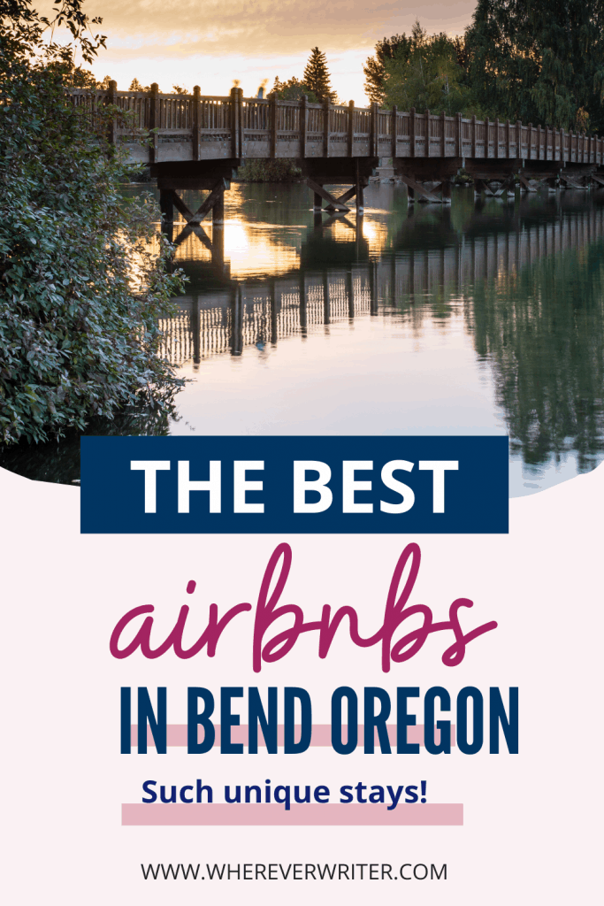 Looking to stay in Bend Oregon? We chose our favorites, including some pretty unique airbnbs! Don't forget to claim your coupon for your next Airbnb rental!